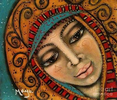 Painting - Hatshepsut by Maya Telford