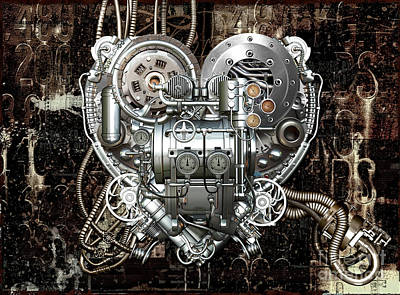 Heart Print by Diuno Ashlee