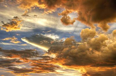 Heavenly Skies  Print by Saija  Lehtonen