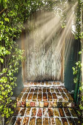 Sun Porch Photograph - Heaven's Gate by Debra and Dave Vanderlaan