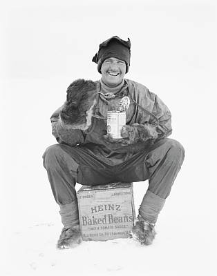 Heinz Baked Beans In Antarctica Print by Scott Polar Research Institute