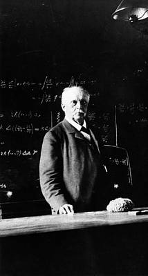 Hermann Helmholtz Print by Emilio Segre Visual Archives/american Institute Of Physics