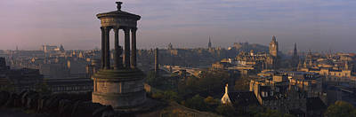 Rooftop Photograph - High Angle View Of A Monument by Panoramic Images