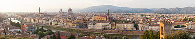 Michelangelo Photograph - High Angle View Of The City by Panoramic Images