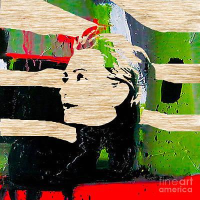 Hillary Clinton Mixed Media - Hillary Clinton by Marvin Blaine