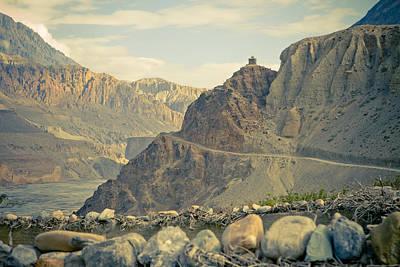 Travel Photograph - Himalayas Road To Upper Mustang by Raimond Klavins