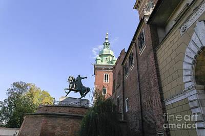 Cracow Photograph - Historic Centre Cracow Poland  by Vladi Alon