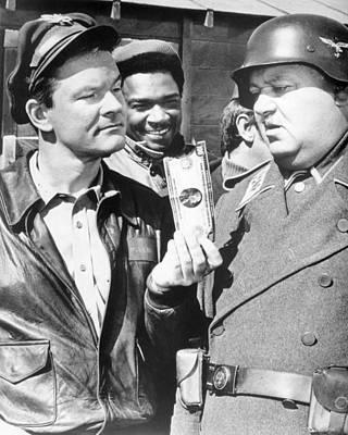 Hogan Photograph - Hogan's Heroes  by Silver Screen