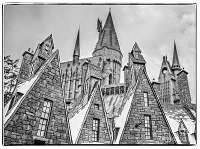 Postcard From Hogsmeade Print by Edward Fielding