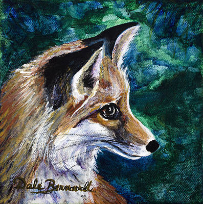 Hopeful Fox Print by Dale Bernard