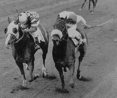 Horse Racing Print by Retro Images Archive