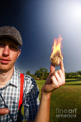 Fireball Photograph - Hot Sport by Jorgo Photography - Wall Art Gallery