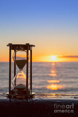 Hourglass Sunrise Print by Colin and Linda McKie