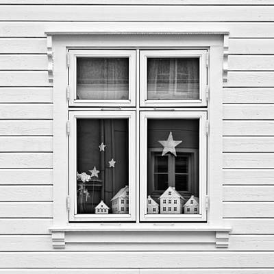 Houses And Windows Print by Dave Bowman