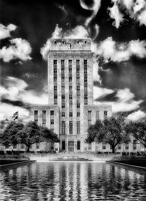 Houston's City Hall Print by Mountain Dreams