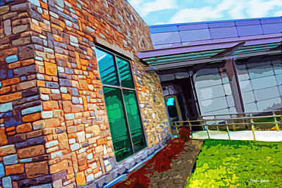 Howard County Library - Miller Branch Print by Stephen Younts
