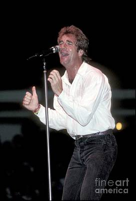 Huey Lewis Photograph - Huey Lewis And The News by Concert Photos