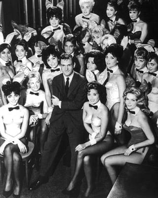Owner Photograph - Hugh Hefner by Retro Images Archive