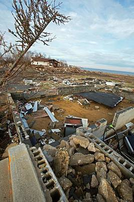 Hurricane Sandy Photograph - Hurricane Sandy Damage by Jim West