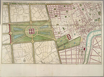 Hyde Park Print by British Library