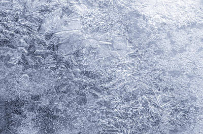 Shattered Photograph - Ice On Minnehaha Creek  by Jim Hughes