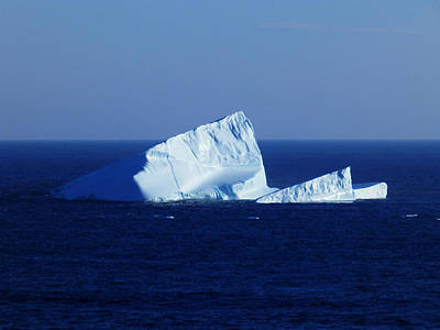 Nature Photograph - Iceberg At Cape Spear by Zinvolle Art