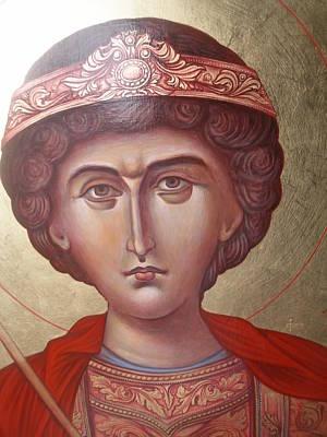 Georgio Painting - Icon by Daniel Kazakov