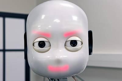 Dexterity Photograph - Icub Robot by Philippe Psaila
