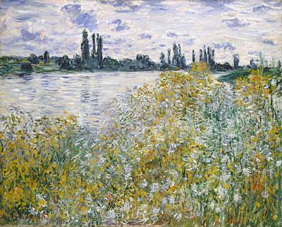 Vetheuil Painting - Ile Aux Fleurs Near Vetheuil   by Claude Monet