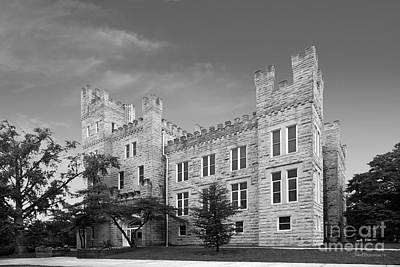Illinois State University Cook Hall Print by University Icons