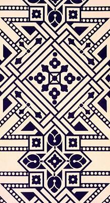 Illustration From Studies In Design Print by Christopher Dresser