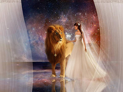 In His Presence Print by Jennifer Page