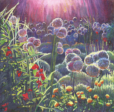 In Bloom Painting - Incandescence by Helen White