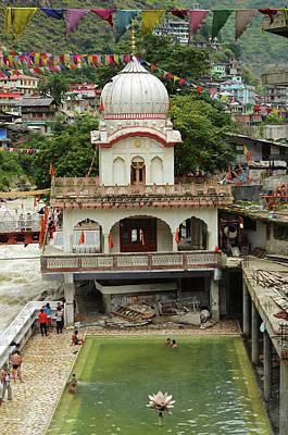 Parvati Photograph - India, Himachal Pradesh, Manikaran, Sri by Anthony Asael