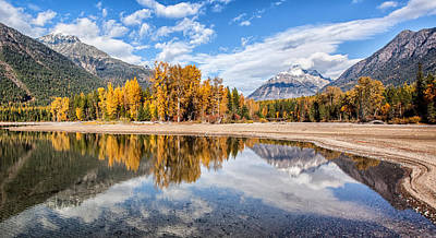 Autumn Landscape Photograph - Into The Wild by Aaron Aldrich
