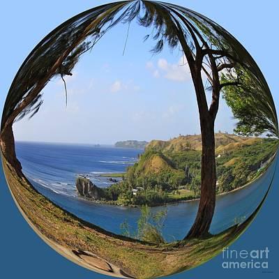 Seascape Photograph - Island Portraits Coastal Shores Guam II by Scott Cameron