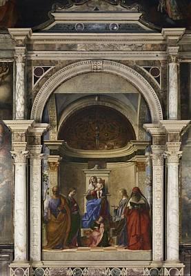 Hagiography Photograph - Italy, Veneto, Venice, San Zaccaria by Everett