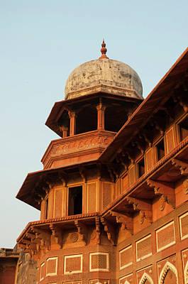 Repetition Photograph - Jahangiri Mahal, Agra Fort, Agra, Uttar by Inger Hogstrom
