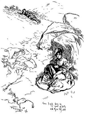 Jane Eyre Illustration Print by