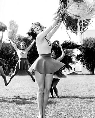 Jane Fonda In Tall Story  Print by Silver Screen