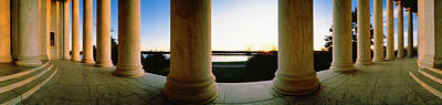 Jefferson Memorial Photograph - Jefferson Memorial Washington Dc Usa by Panoramic Images