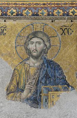 Jesus Christ In Istanbul Turkey Print by Brandon Bourdages