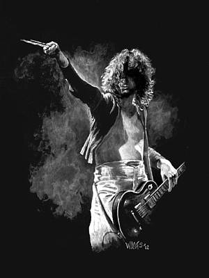 Jimmy Page Original by William Walts