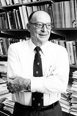 John Bardeen Print by Emilio Segre Visual Archives/american Institute Of Physics
