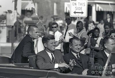 John F. Kennedy, 1963 Print by Larry Mulvehill