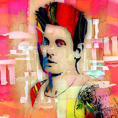 John Mayer Collection Print by Marvin Blaine