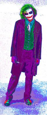 Joker 14 Print by Alys Caviness-Gober