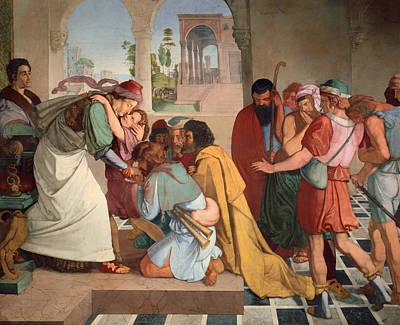 Giving Painting - Joseph Reveals Himself To His Brothers by Mountain Dreams