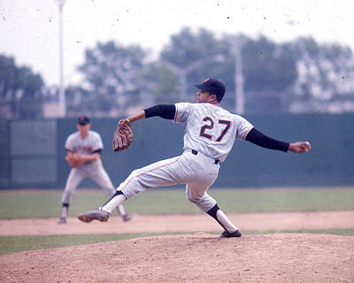 The Red Sox Photograph - Juan Marichal by Retro Images Archive