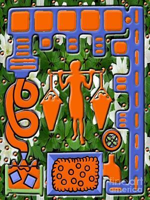 Juice Print by Patrick J Murphy